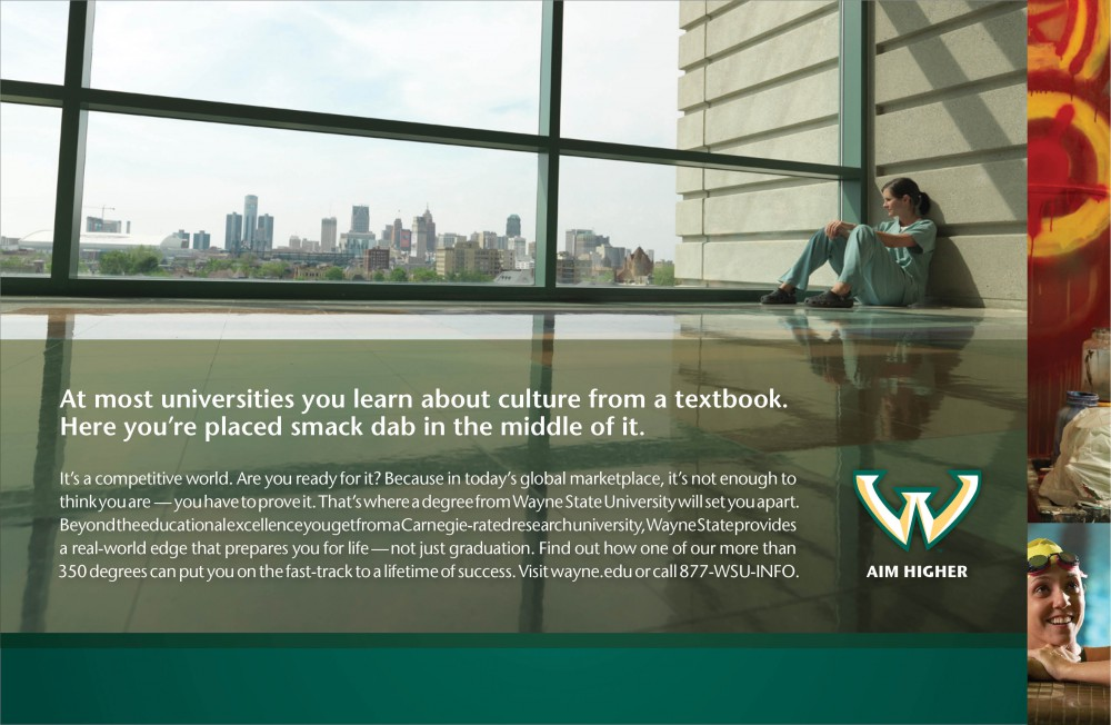 Wayne State Ad Agency DRIVEN