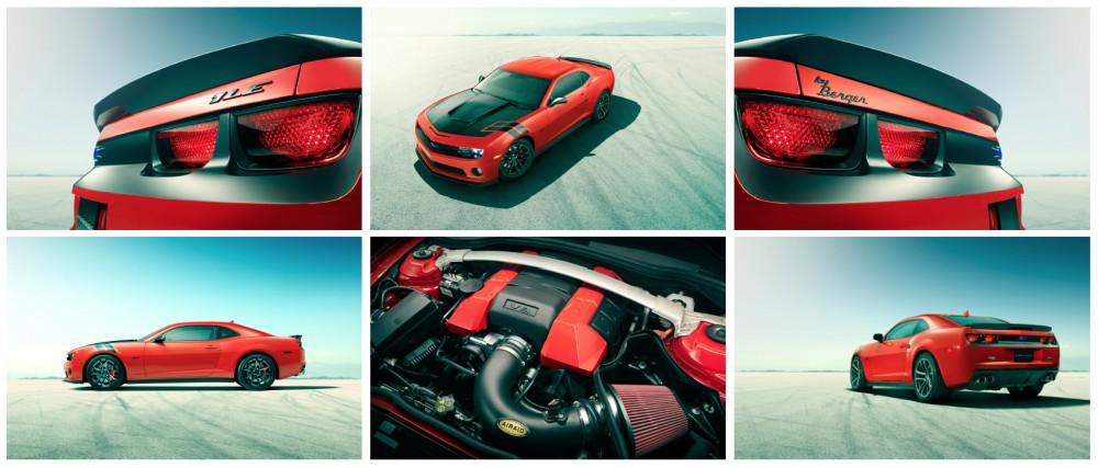 Camaro Branding DRIVEN