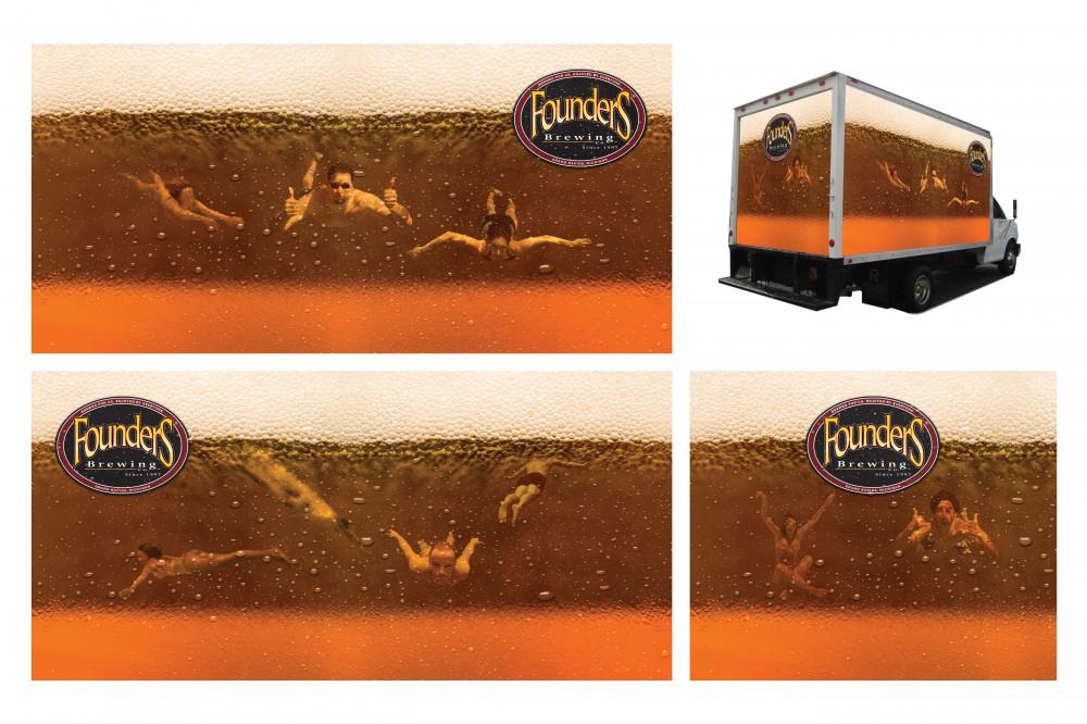 DRIVEN Truck Wrap Beer