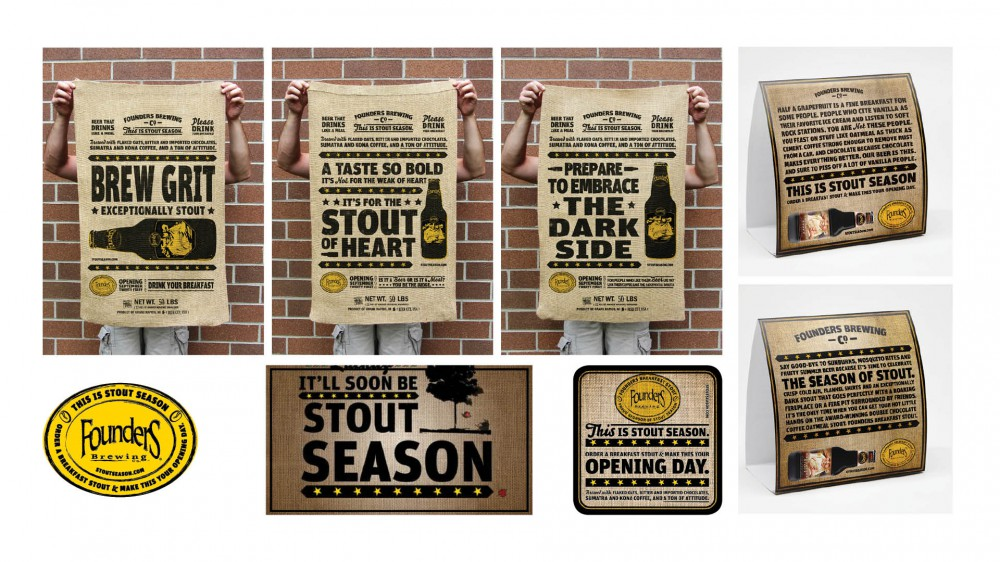 Founders_Stout Season Beer Campaign DRIVEN