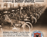 DRIVEN work for a great cause. The Ford Piquette Plant in Detroit changed the world.