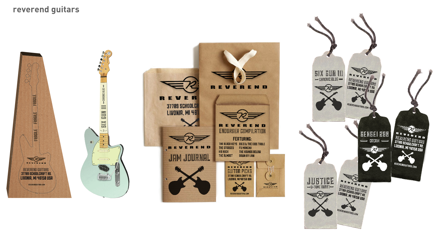 Reverend Guitars Driven solutions ad agency detroit michigan brand
