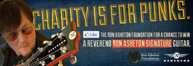 Ron Asheton Foundation Facebook Promotion